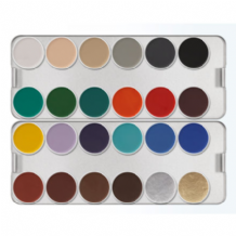 Kryolan Aquacolour Bright Colour Palette